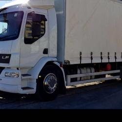 2011 DAF LF55 220 Curtainsider Completely Refurbished and Supplied to our customer in Malta