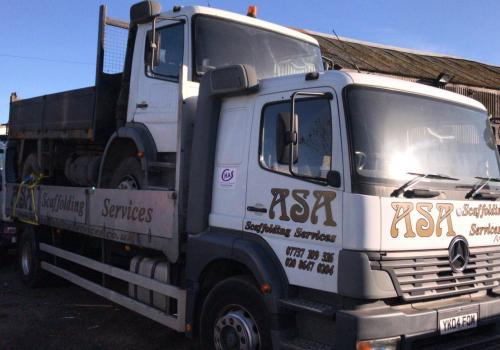 Mercedes Atego Dropside Loaded with Mercedes Atego Tipper next stop Zimbabwe